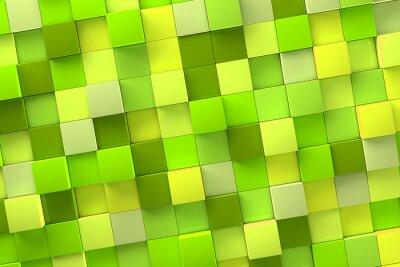 Image 3D Cube Fond