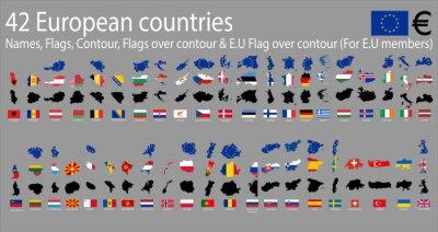 Image 42 pays européens
