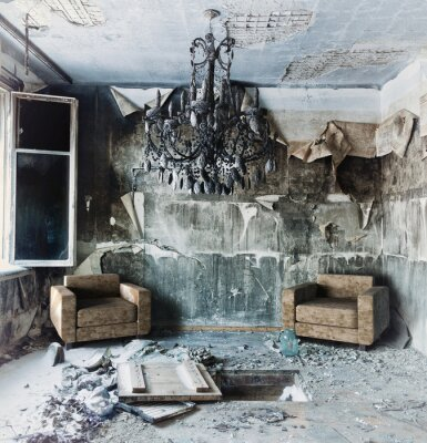 Image abandonné intérieur