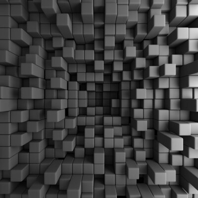 Image Abstract 3D Cubes Blocks Wallpaper Background