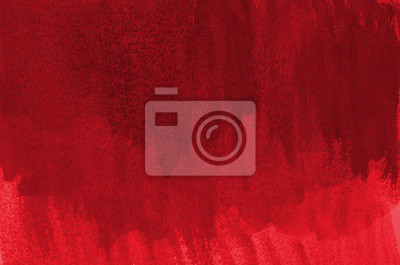 Image Abstract red background in watercolor style