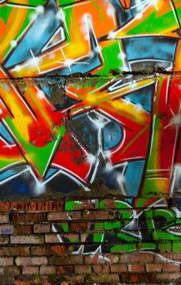abstraction graffiti