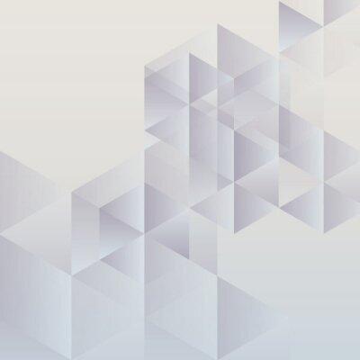 Image Abstrait arrière-plan géométrique, conception triangulaire moderne