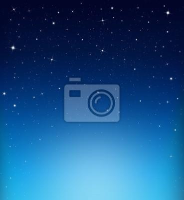abstrait étoilé sur fond bleu