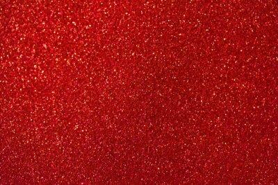 Image Abstrait macro de beaux paillettes rouges avec bokeh