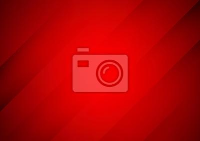 Image Abstrait vecteur rouge avec des rayures