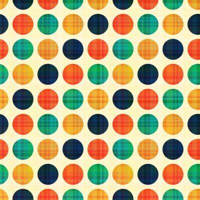 Image abstraite sans soudure motif de pois