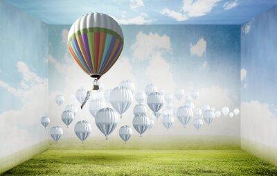 Image Aérostats dans le ciel