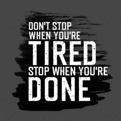 Image Affiche de motivation avec le lettrage