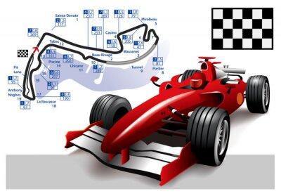 Image Affiche Monaco Grand Prix Formule 1
