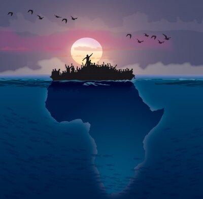 Image Afrique - Emigration