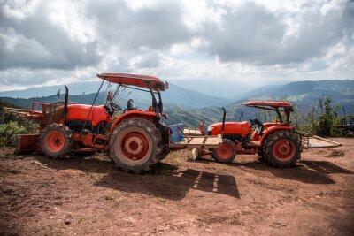 Image Agriculteur, tracteur, semis, cultures