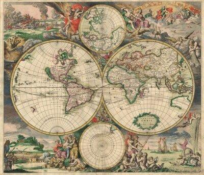 Image Ancienne carte (1689)