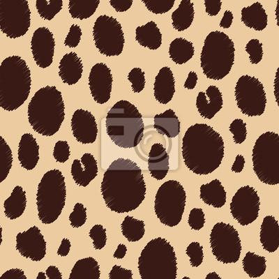 Animal skin. Seamless patterns.