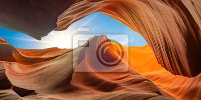 Image antelope canyon in arizona - background travel concept