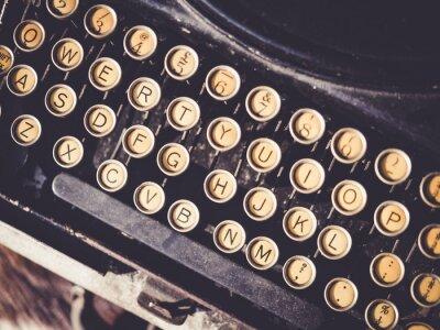 Image Antique, machine à écrire, vendange, objet, fond