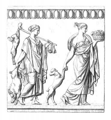 Image Antiquité: les femmes romaines