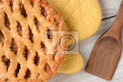 Apple Pie Gros plan