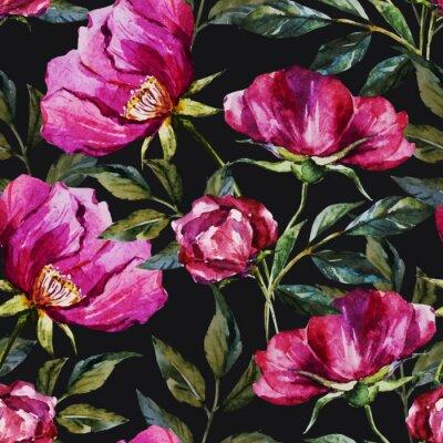 Image Aquarelle motif floral
