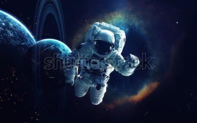 Image Art cosmique, fond d'écran de science-fiction. Beauté de l'espace profond. Des milliards de galaxies dans l'univers. Éléments de cette image fournie par la NASA