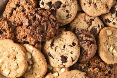 Image Assorti, biscuit, closeup
