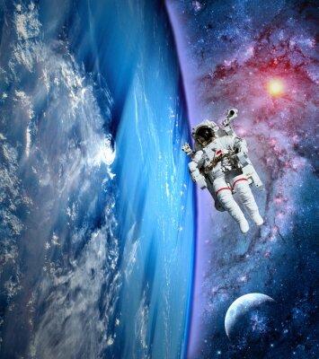 Image Astronaute Spaceman Terre Lune