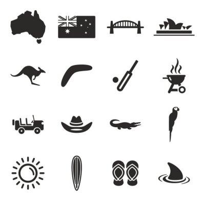 Image Australia Icons