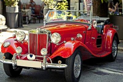Image auto d'epoca dans esposizione