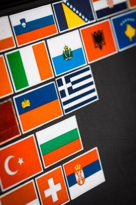 Image Autocollants de drapeau de pays