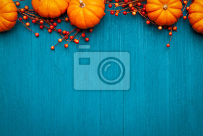 Image Autumn Thanksgiving Colorful Setting Background