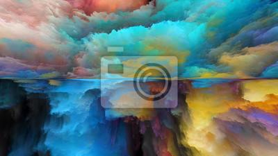 Image Avance du paysage abstrait