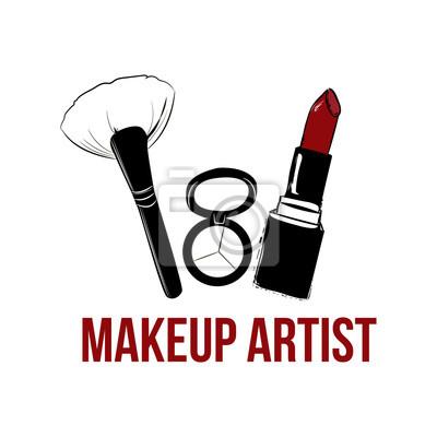 Image Banniere De Logo Artiste Maquillage Concept Carte Visite Et