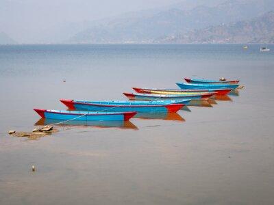 Image Bateaux sur le lac Fewa