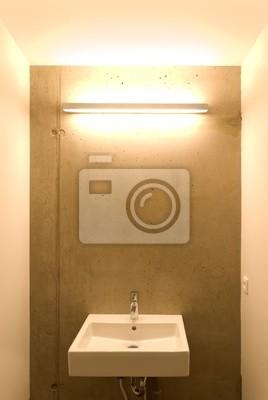 Bâtiment Lavabo De Toilette Peintures Murales Tableaux Nouveau