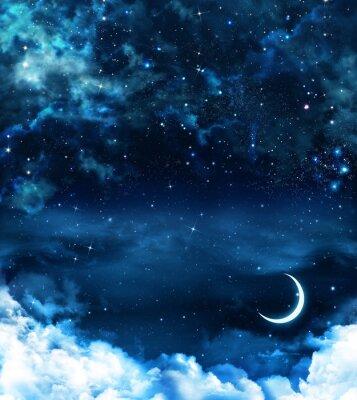 Image beau fond, ciel nocturne