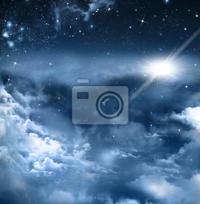 beau fond de ciel nocturne