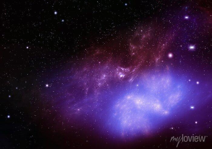 Image Beau fond de la nuit ciel profond espace extra-atmosphérique