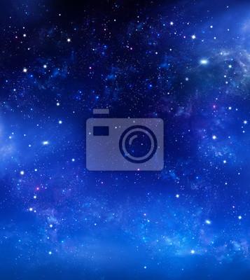 beau fond du ciel nocturne avec des étoiles