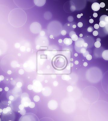 beau fond violet avec des lumières defocused