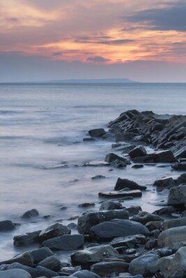 Image Beau, paysage, paysage, rocheux, littoral, Kimmeridg