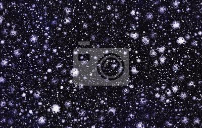 beaucoup de météorites avec des cratères sur un fond d'étoiles de l'espace