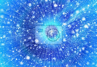 beaucoup de météorites volantes sur un fond d'étoiles de l'espace
