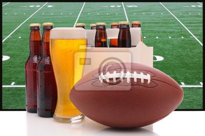 Beer Bottles and American Football