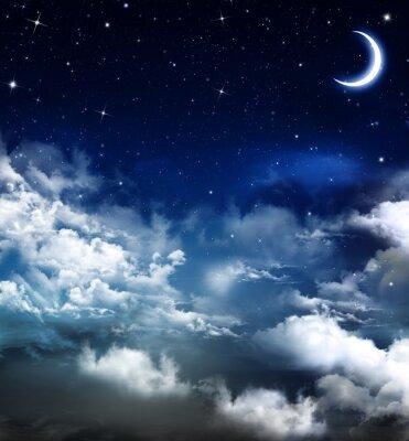 belle arrière-plan, ciel nocturne