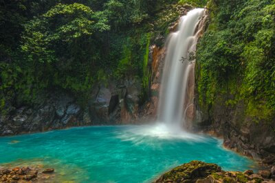 Image Belle Celeste Rio Waterfall