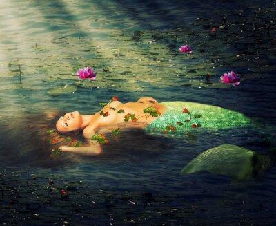 Image Belle femme sirène