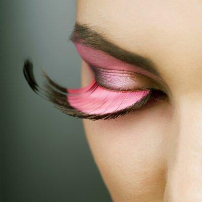 Image Belle maquillage de mode de vacances