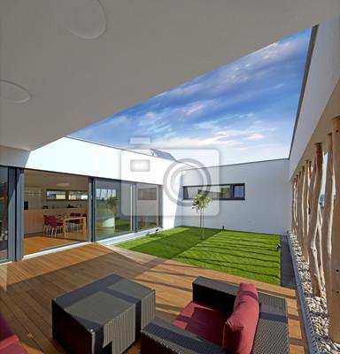Belle nouvelle paisible, maison moderne