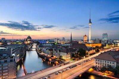 Image Berlin skyline panorama