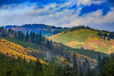 Image Beskid Mountains, Pologne